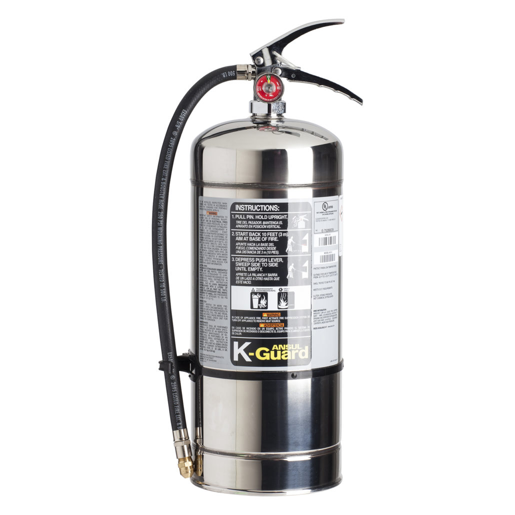 kitchen photo and stock a alamy fire blanket extinguisher